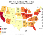 Why did Montana ag land values increase last year?