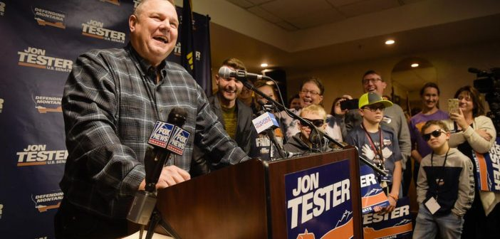 Does Agriculture Explain Jon Tester's Popularity?