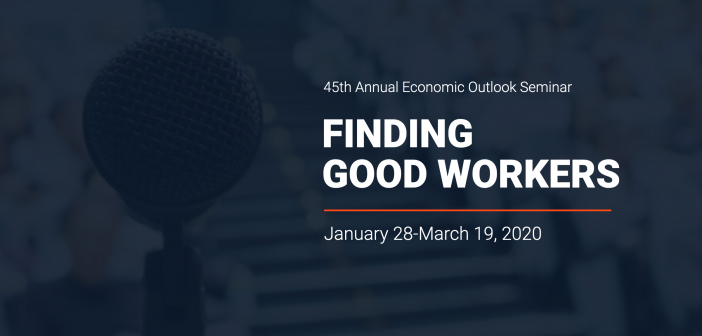 Feral pigs are coming!  And other highlights of the 2020 Economic Outlook Seminar